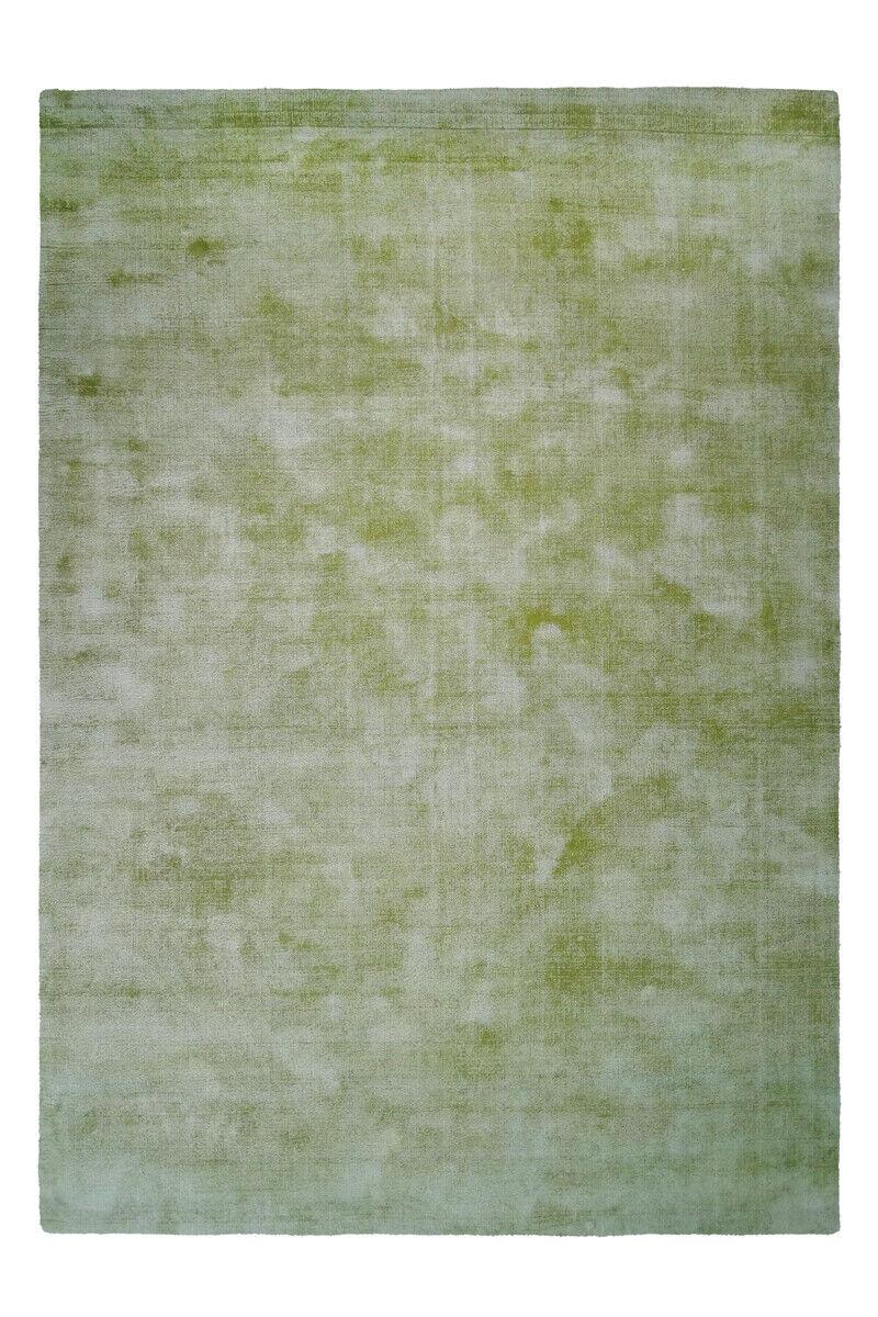 FLACHFLOR Tapis 100% viscose confectionnées kurzflorteppich Edelvert 200x290cm