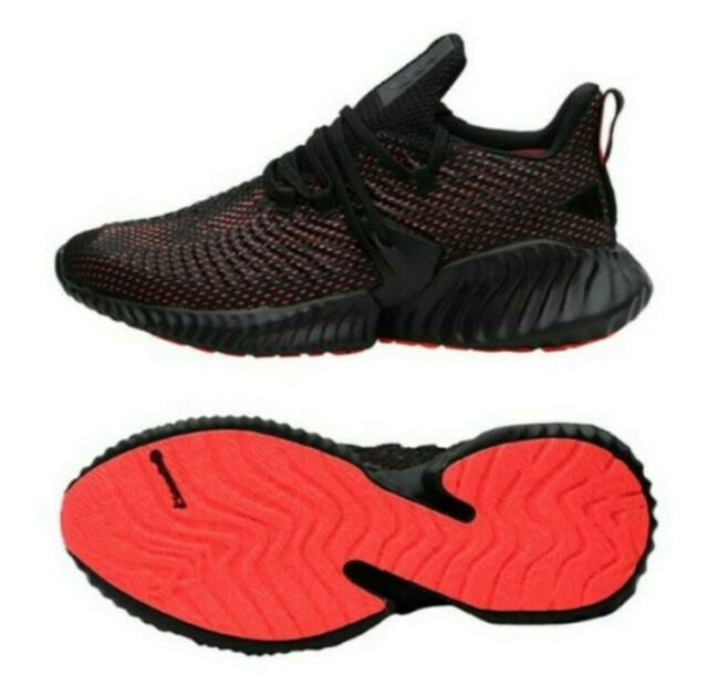 adidas alphabounce red and black