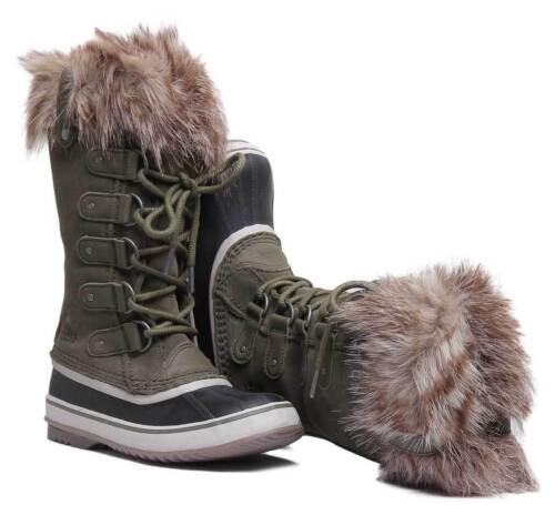 taglia Stivali Of Forestgren 3 8 donna Arctic Joan pelle in di Sorel scamosciata 0vvrqwt