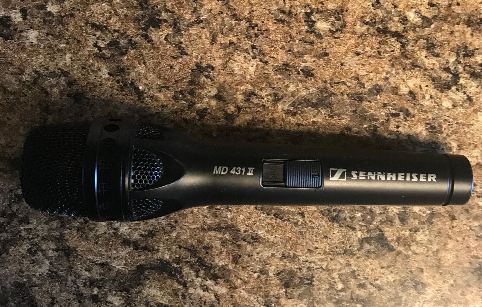 Sennheiser MD431-II Live Vocal Super Cardioid Dynamic Microphone MD 431 431II