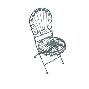 Fantastisch Das Bild Wird Geladen 2er Set Deko Stuhl Gartenstuhl Metallstuhl Metall Mit