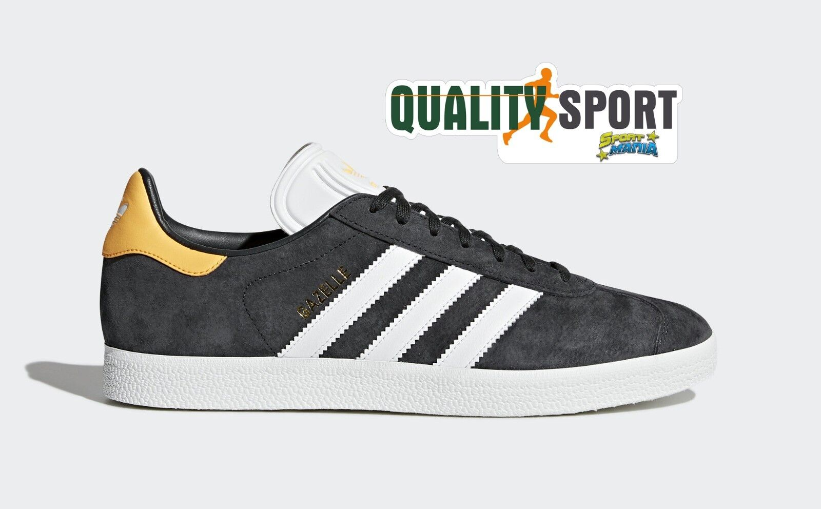 Adidas Gazelle Sportive Grigio Arancio Schuhe Schuhes Uomo Sportive Gazelle Sneakers CQ2807 2018 3d7fba