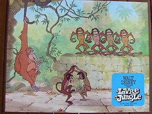 Details Sur Mowgli Danse Avec Les Singes Photo Exploitation Lobby Card Le Livre De La Jungle