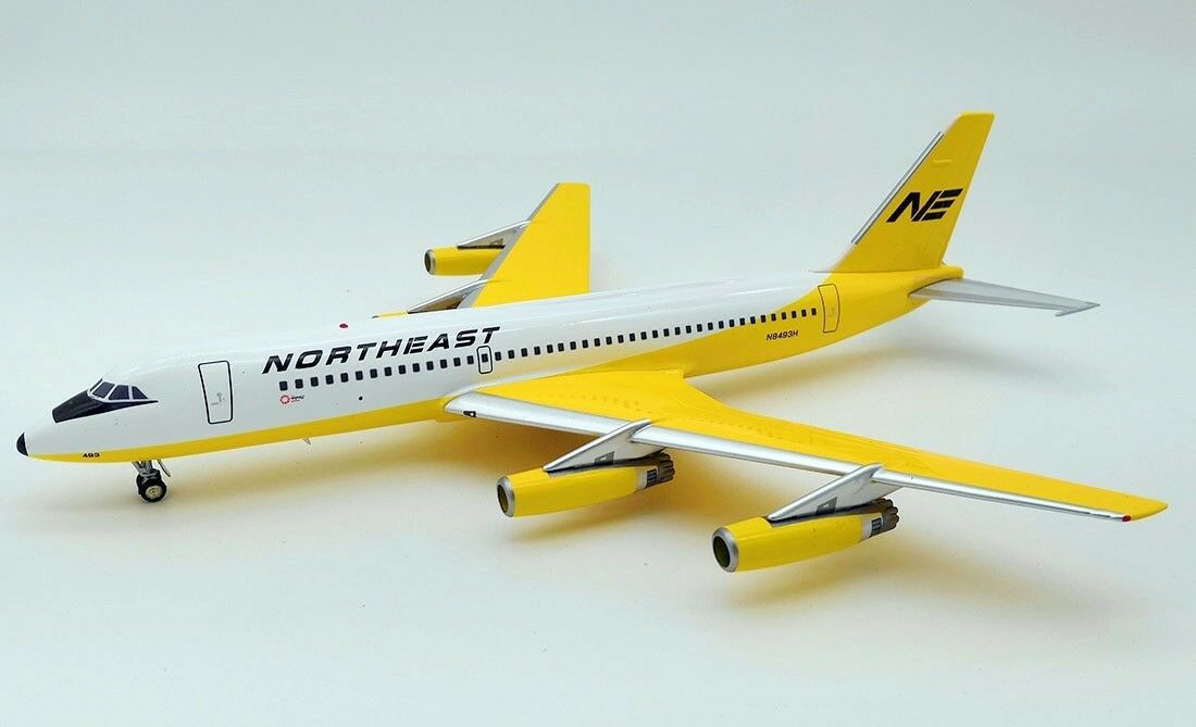 INFLIGHT 200 IF880NE001 1 200 NORTHEAST AIRLINES CONVAIR 880 N8493H WITH STAND