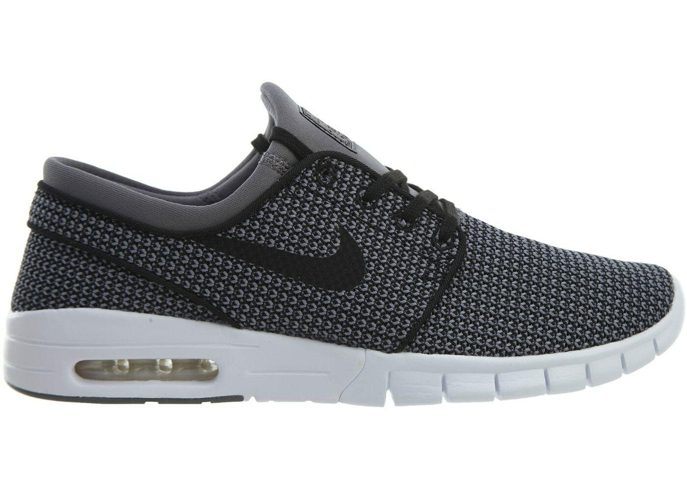 Nike SB Zoom Stefan Janoski HOUNDSTOOTH GUNSMOKE GREY BLACK WHITE 631303-024 11