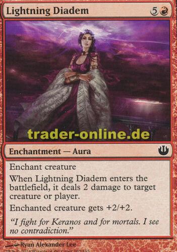 4x Lightning Diadem Journey into Nyx Magic Blitzdiadem
