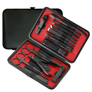18pcs-Manicure-Pedicure-Set-Nail-Clippers-Callus-Remover-Kit-Hand-Foot-Care-USA