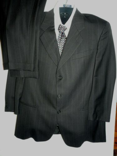 pantaloni Mani 41 uomo X lana ~ vergine Italia 34 foderata pezzi Tuta 28 Sz Vtg R 2 q1wpItv
