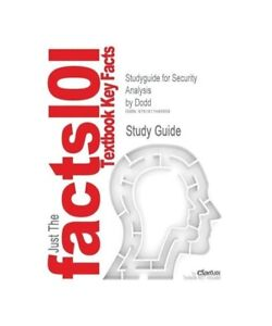 Cram101-Textbook-Reviews-Studyguide-for-Security-Analysis-by-Dodd-ISBN-97800715