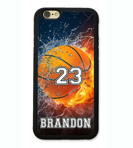 Details About Personalized Number Name Basketball Phone Case Cover For Iphone Xr Xs X 8 7 6 Se
