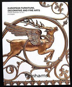 Bonhams Auction Catalog European Furniture Decorative And Fine Arts Ebay