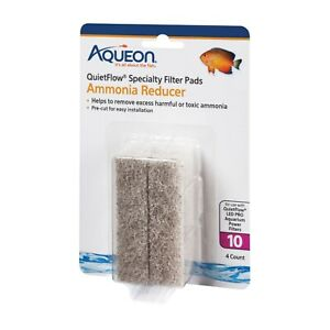 Aqueon-QuietFlow-Size-10-Ammonia-Reducer-Filter-Pads-4-Pack