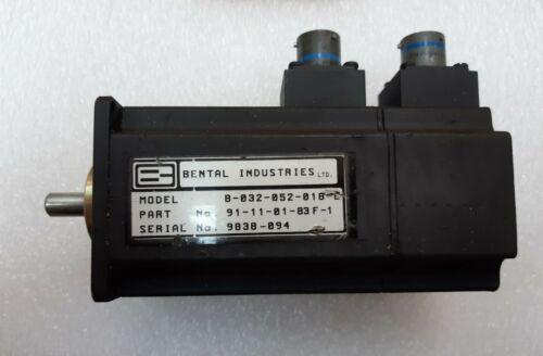 Details about  /Bental Brushless  B032-052-018-E  SERVO  Motor 18V//KRPM D3//8