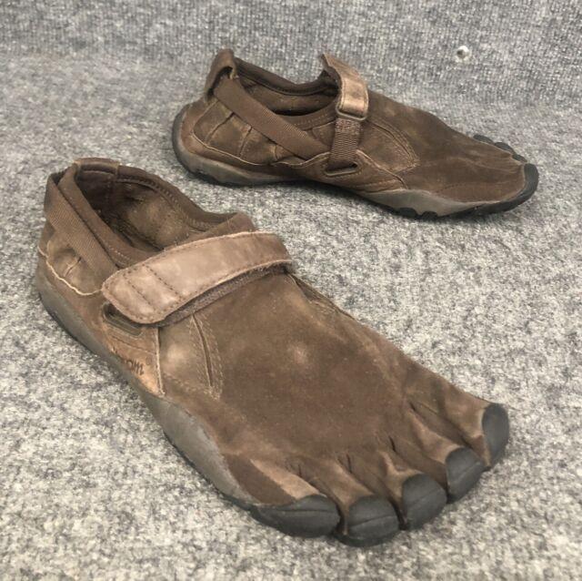 buy sale running shoes super cute Vibram Five Fingers KSO Trek K100 Leather Brown M241 Size 42 for ...