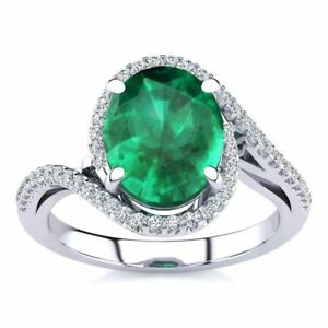 14K-GOLD-2-1-2-CARAT-OVAL-EMERALD-AND-HALO-DIAMOND-RING-In-3-Gold-Colors