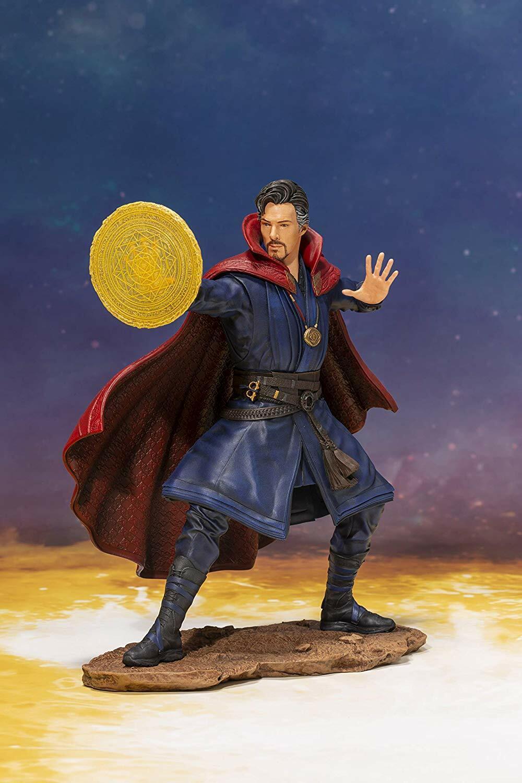 Marvel ArtFX + película Los Vengadores 3 Infinity Guerra  - escala 1 10 Dr. extraño  en Stock
