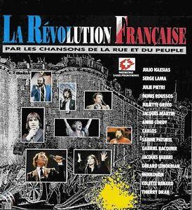 CD-La-revolution-francaise-Serge-LAMA-Gerard-LENORMAN-Julio-IGLESIAS-MOULOUDJI