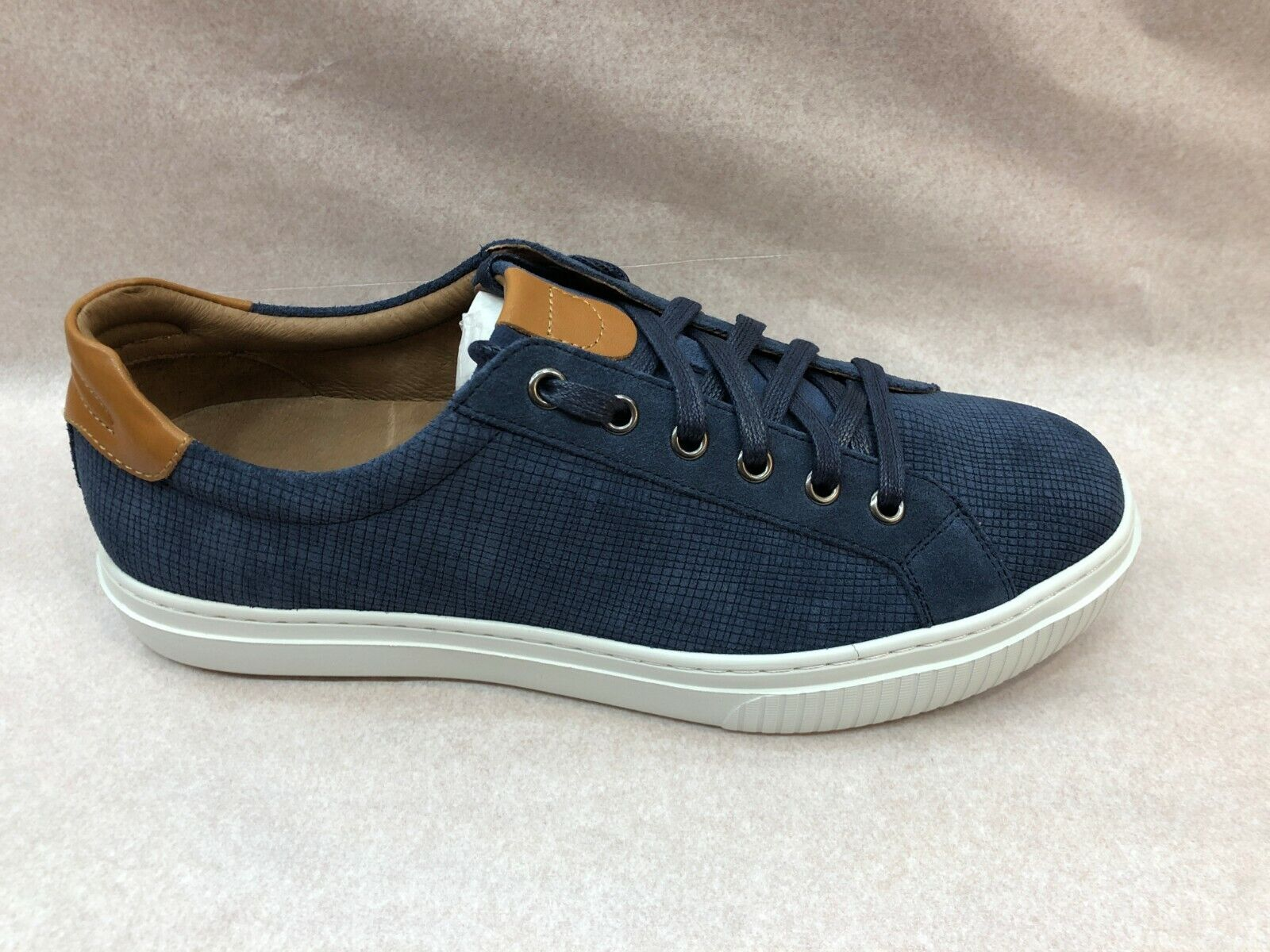 Johnston & Murphy Collection Men's Sneaker 1850 Toliver Lace-to-Toe In Denim