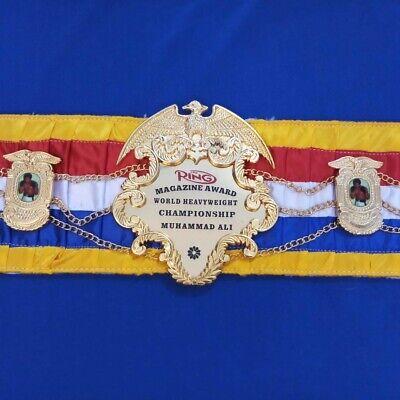 RING MAGAZINE Boxing Champion Ship Belt.full size.