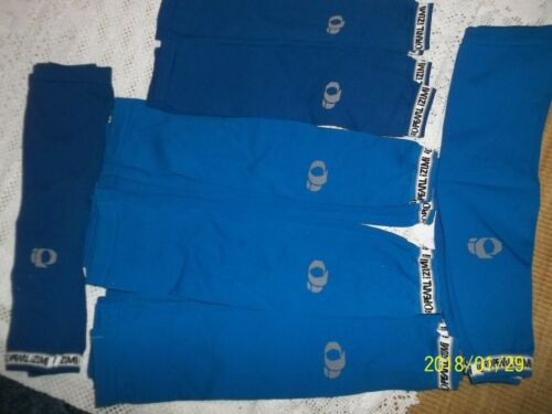 16 pr Blue Seamless Arm Warmers..Pearl Izumi 1620in long.Never Worn2
