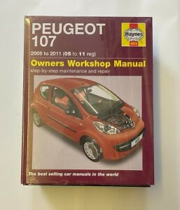 Haynes 4923 Manual for Peugeot 107 2005-2011
