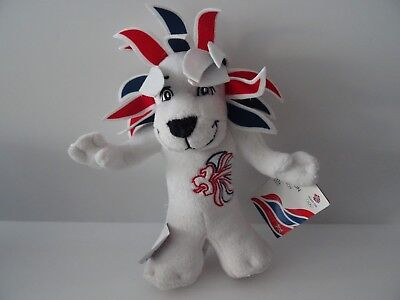"Olympic Memorabilia The Pride Of London Olympic 2012 Soft Toy ""pride The Lion"" Official Product Bnwt"