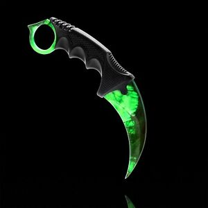 himmelsschmiede counter cs karambit gamma doppler emerald. Black Bedroom Furniture Sets. Home Design Ideas