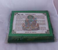 5 Roll Green Tara  Prayer Flags Gift Pack (PF-04)