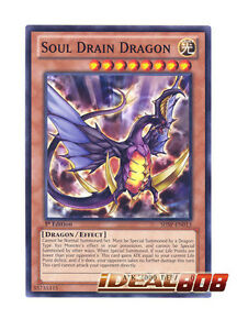 Verzamelingen Losse kaarten SHSP EN013 1ST ED 3X SOUL DRAIN DRAGON COMMON CARDS