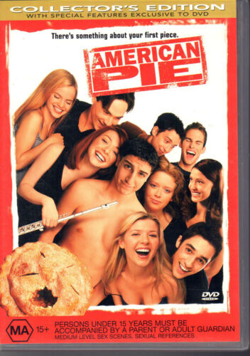 1 of 1 - AMERICAN PIE - DVD Collector's Edition  LIKE NEW  FREE POST