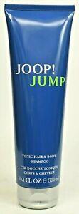 JOOP! JUMP per gli uomini 300ml TONIC Hair & Body Shampoo Nuovo profumata