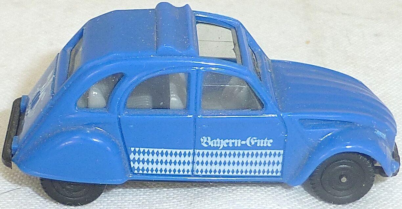 2cv Canard Bayern-Ente CITROËN Salon de Jouets 1981 Rare Herpa 1 87 Å