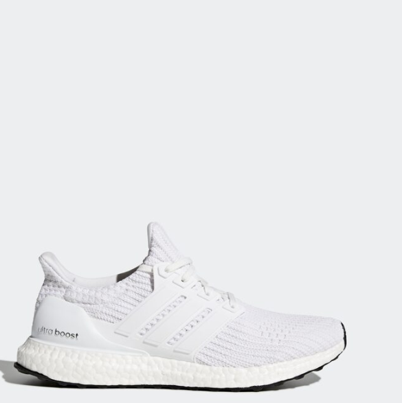 big sale fast delivery detailed pictures Adidas Unisex Ultra Boost Running Sneakers Trainers Shoes White BB6168  Size4-12