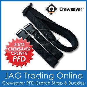 CREWSAVER DUAL CROTCH STRAP PFD LIFE JACKET CREWFIT INFLATABLE LIFEJACKET CRUTCH