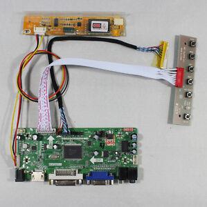 B1 LCD Screen Controller Converter Kit for LP171WP4 HDMI+DVI+VGA TL 1440X900