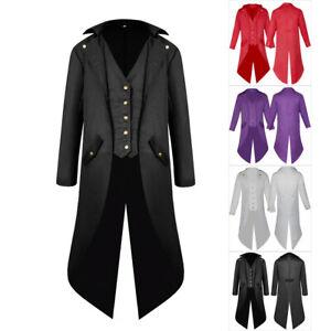 Steampunk  Victorian style Mens wool Tuxedo coat sizes 16boys 46R