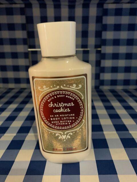 1 Bath & and Body Works Christmas Cookies Body Lotion 8 Oz NEW!   eBay