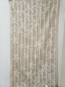 Coastal Sage Island Spa Starfish Bath Hand Towels Seashell Beach