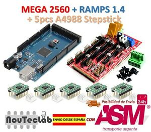 Mega-2560-R3-RAMPS-1-4-Control-Panel-5pcs-A4988-Stepper-Drive