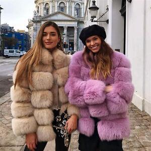 8f920dd5e HOT SALE Women Real Full Pelt Whole Skin Vulpes Fox Fur Coat Jacket ...