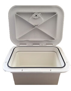Exceptionnel Image Is Loading Access Hatch With Storage Box For Caravan Boat