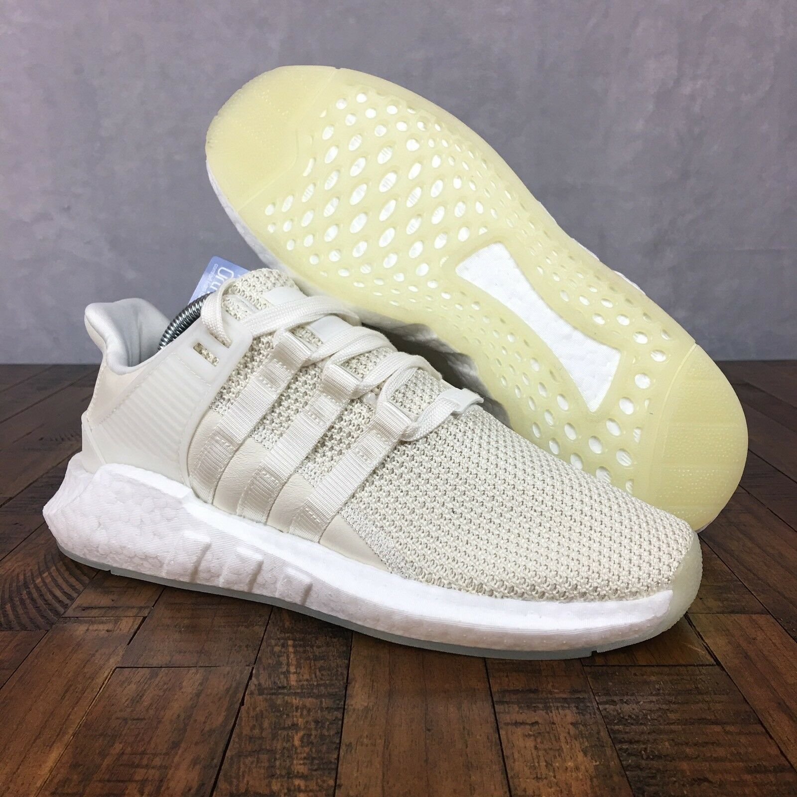 Adidas EQT Support 93 17 Boost shoes BZ0586 Off White Mens Size 8 or Womens 9.5