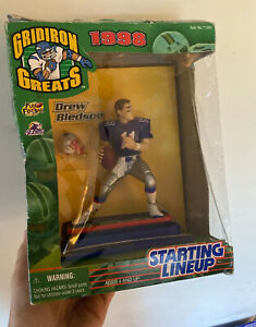 Drew Bledsoe STARTING LINEUP New England Patriots ACTION FIGURE Gridiron Greats