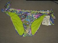 Lucky Brand Womens Multi Bathing Suit Bikini Bottoms Large