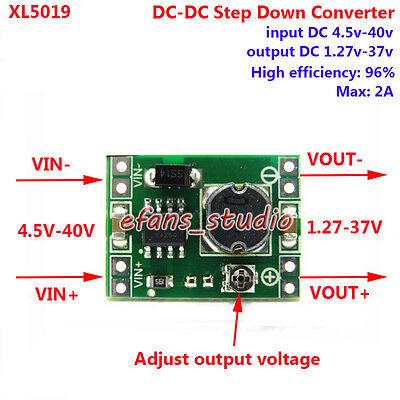 DC-DC Buck Step Down Voltage Mini Converter Board 5V-40V To 3.3V 6V 9V 12V 24V