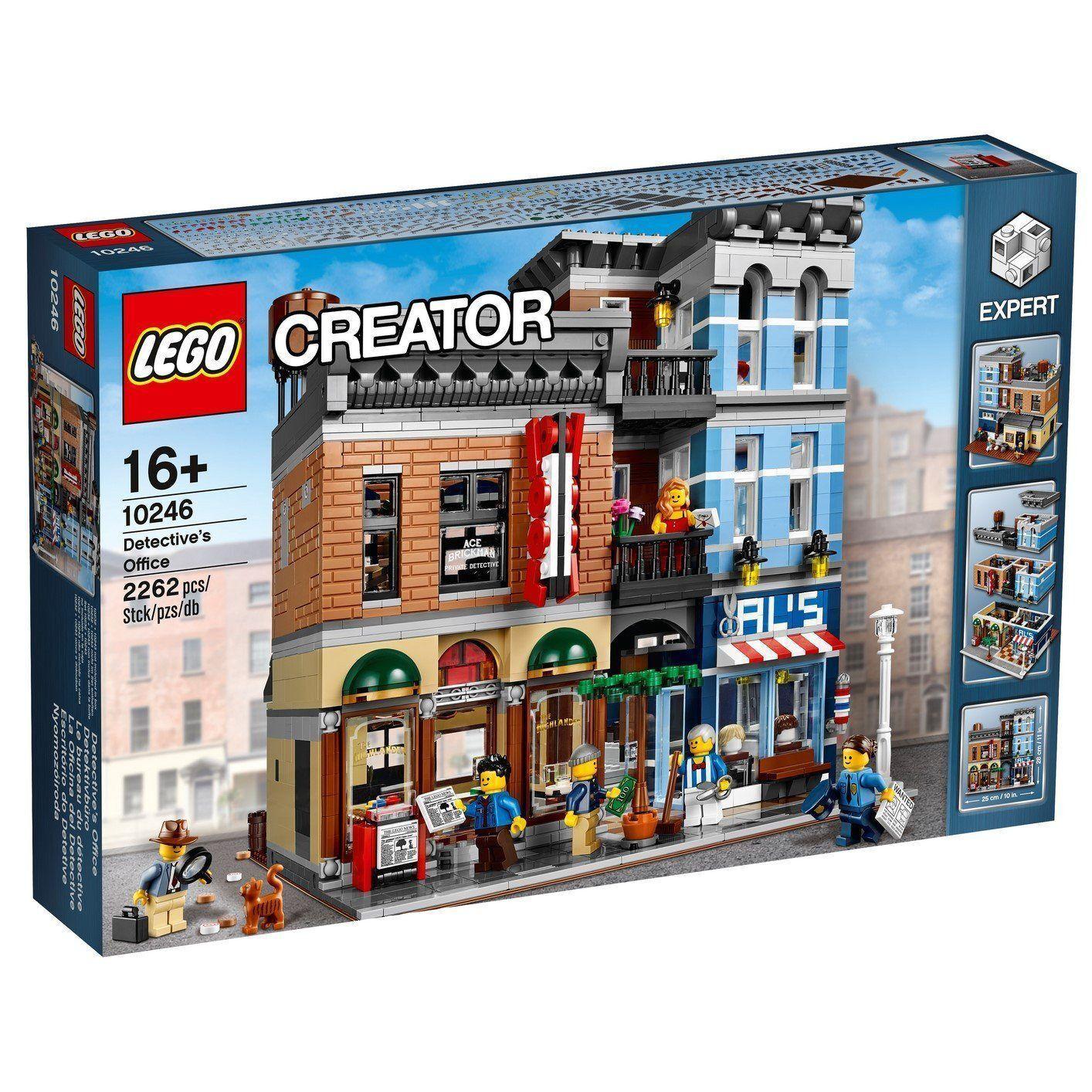 Lego 10246 Detective's Office-FACTORY SEALED  Expédition Mondiale