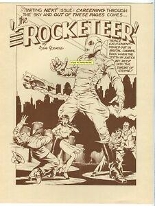 DAVE-STEVENS-ROCKETEER-PRINT-1987-OREGON-SHOW-Event-LTD-LOW-PRINT-RUN-Betty-Page