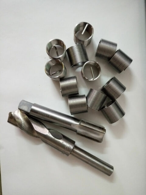 Free Shipping Helicoil Thread Repair M12 x 1.5 Drill and Tap 12 Inserts