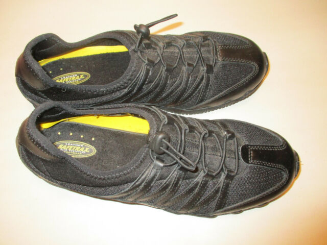 Safetrax Womens 8M Black Leather