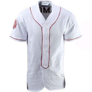 Image is loading 120-Diamond-Supply-Co-Dugout-Baseball-Jersey-white